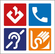 Logotip Servici de vídeo interpretació en llenguatge de signes per a persones sordes