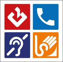 Logo Sign language interpreting video service for the deaf